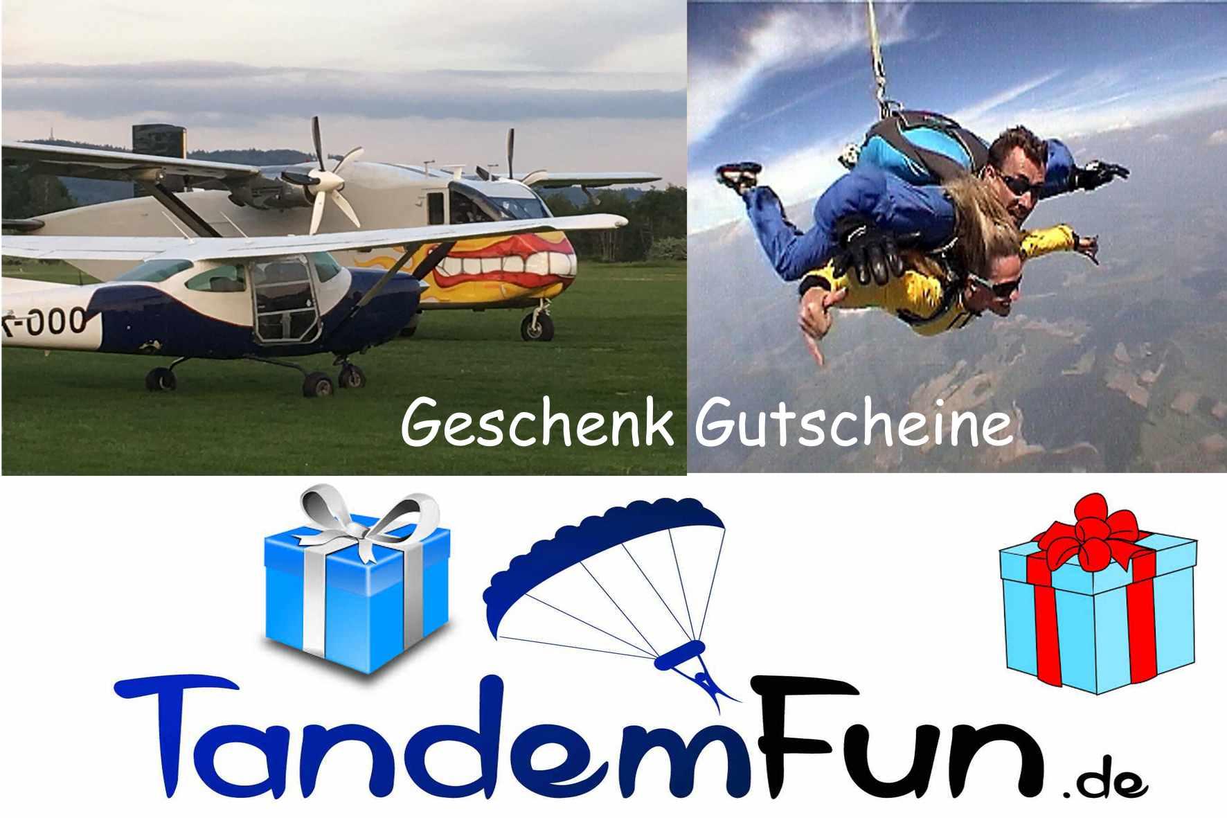 Tandemsprung-Gutschein-Geschenk-Bayern