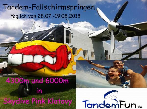 Fallschirmspringen-Klatovy