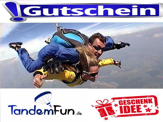 Fallschirmspringen-Gutschein-Geschenk