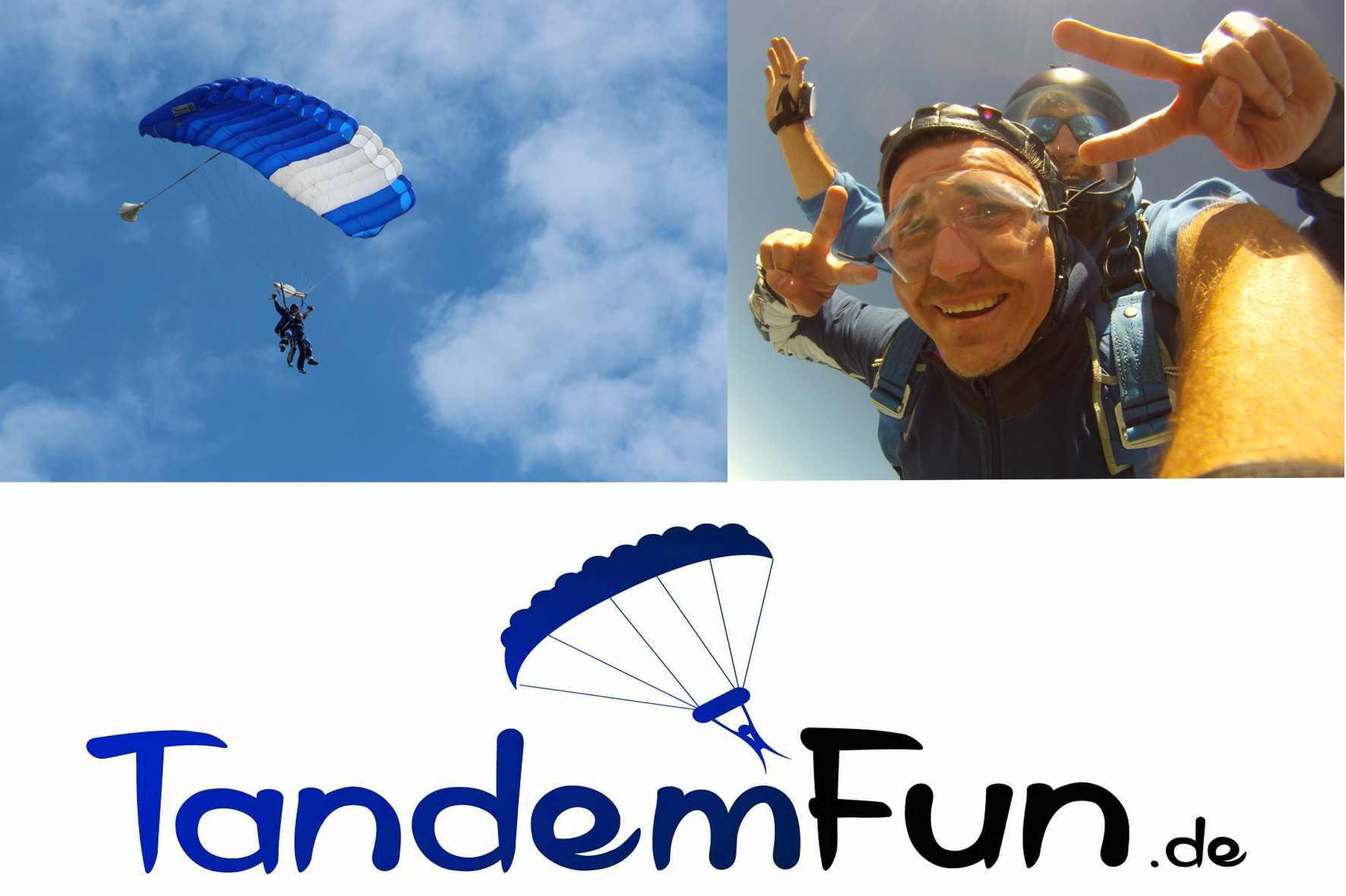 Fallschirmspringen-Gruppen-Event
