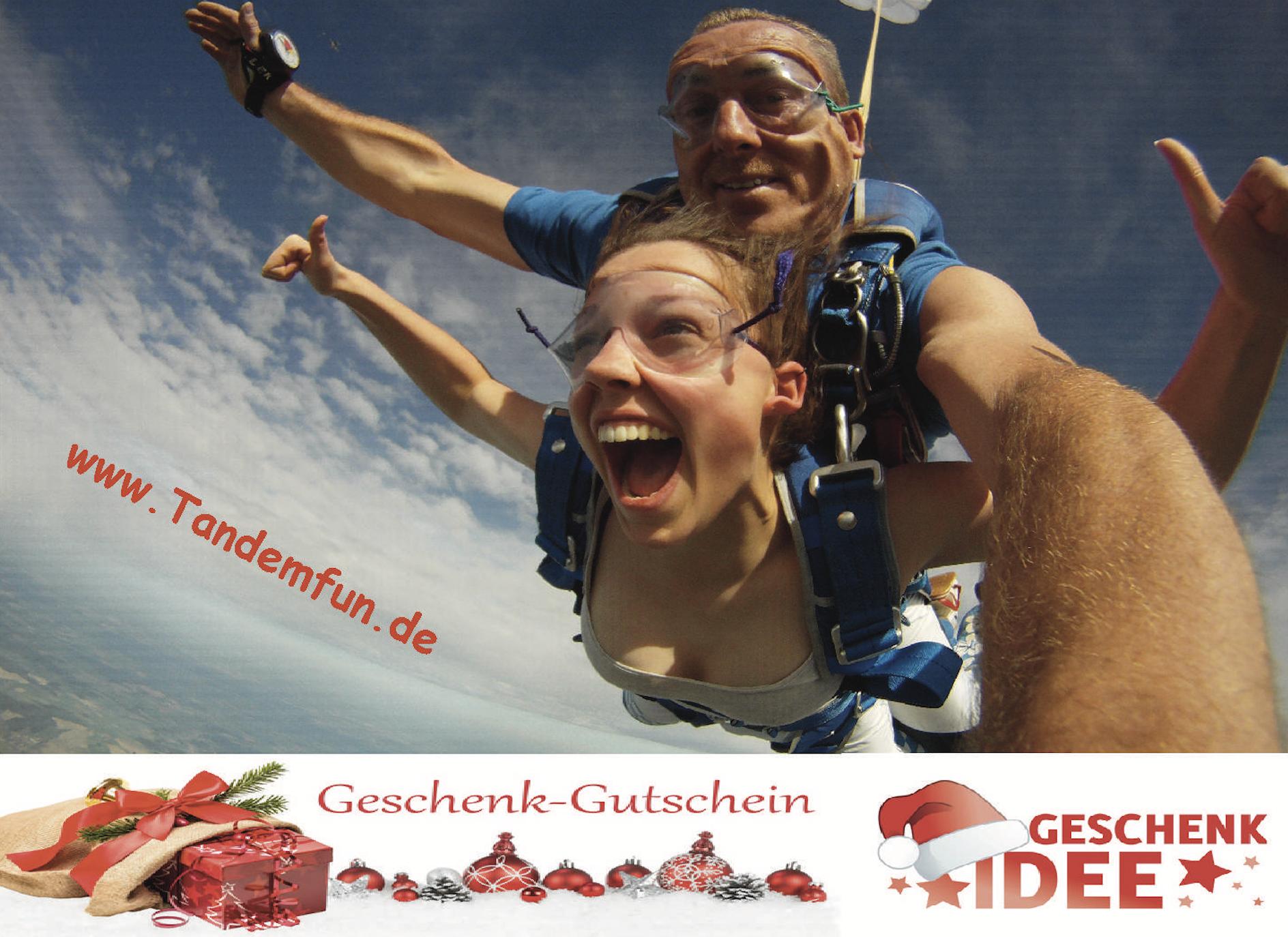 Geschenkidee-Tandemsprung