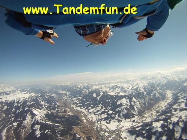 Gutschein-Zell-am-See-Fallschirmsprung